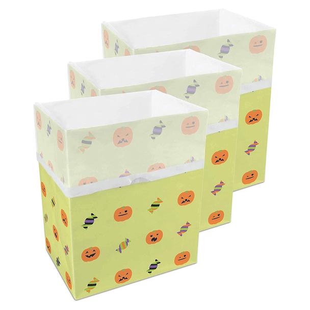 13 Gallon Clean Cubes, 3 Pack (Halloween Pattern)