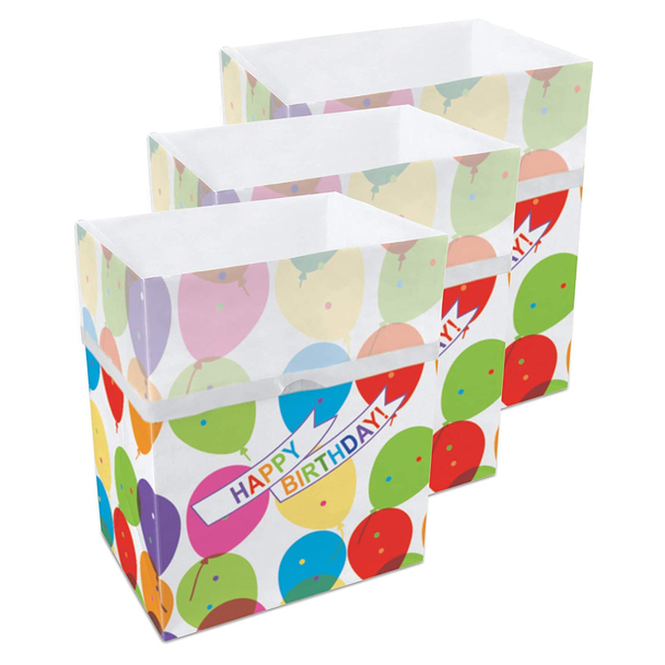 13 Gallon Clean Cubes, 3 Pack (Birthday Pattern)