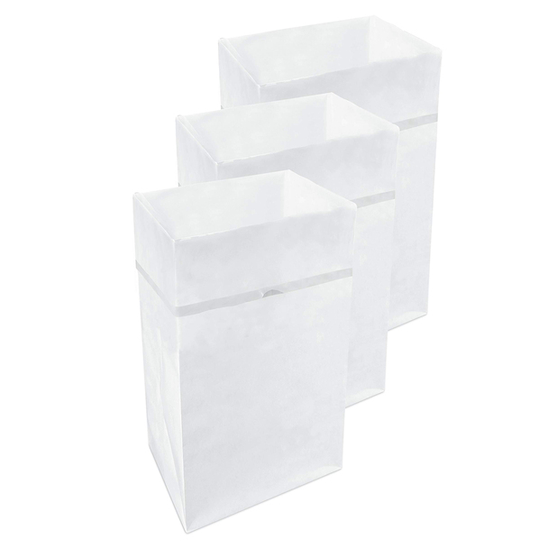 30 Gallon Clean Cubes, 3 Pack (White Pattern)