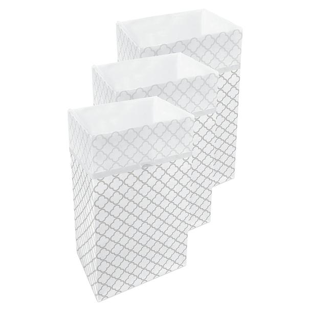 30 Gallon Clean Cubes, 3 Pack (Trellis Pattern)