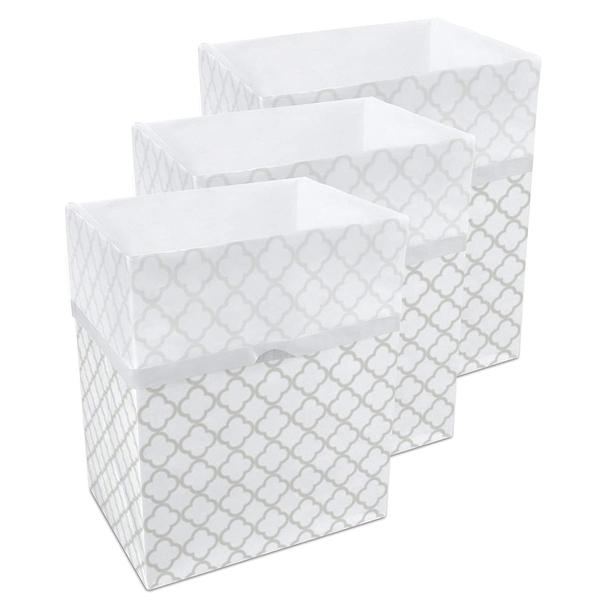 13 Gallon Clean Cubes, 3 Pack (Trellis Pattern)